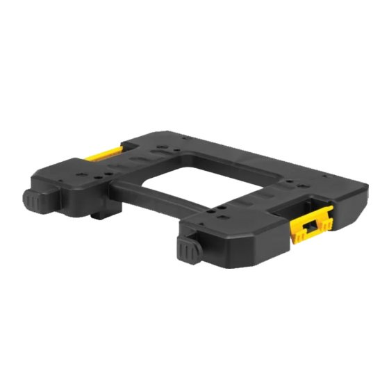 DEWALT DWV9500 T-STAK VAC RACK ATTACHMENT PLATE FOR DWV902M