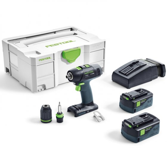 Festool T18+3 Li 5,2-Plus GB