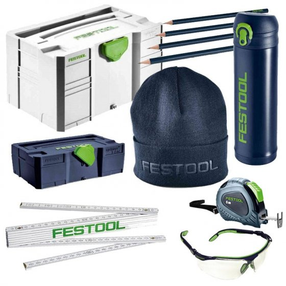 FESTOOL FAN 8PC MERCHANDISE GIFT PACK