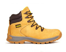 Apache Nubuck Safety Boots (Honey)