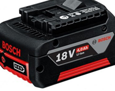 BOSCH BATTERIES AND CHARGERS