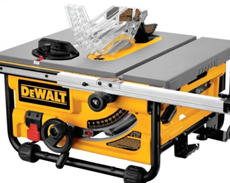 DEWALT FLIPOVER SAWS & TABLE SAWS