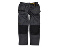 DEWALT PRO TRADEMAN WORK TROUSER - BLACK/GREY