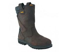 Dewalt Rigger Safety Work Boots (Brwon)