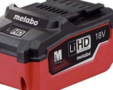 METABO BATTERIES AND CHARGERS