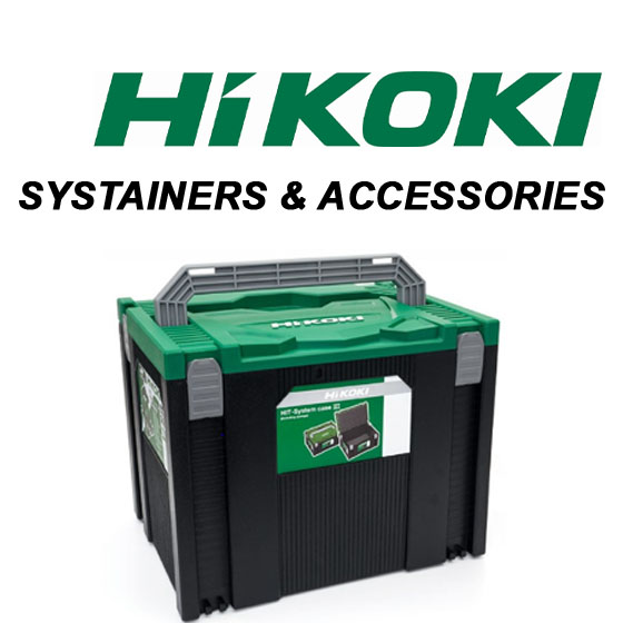 HIKOKI ACCESSORIES & SYSTAINERS