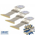 SMART 044BMT3 NAIL BUSTER EXTREME BI METAL MULTI TOOL BLADES