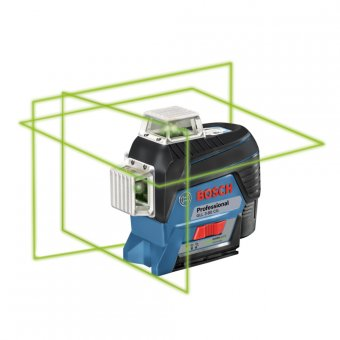 BOSCH GLL 3-80 CG 12V PROFESSIONAL LINE LASER WITH 1 X 2.0AH BATTERY