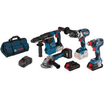 Bosch 18v 4pce Brushless Combo Kit