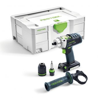 FESTOOL PDC18/4 LI-BASIC PERCUSSION DRILL BODY ONLY (574701)