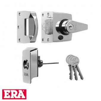 ERA BRITISH STANDARD HIGH SECURITY NIGHTLATCH (NARROW STYLE)