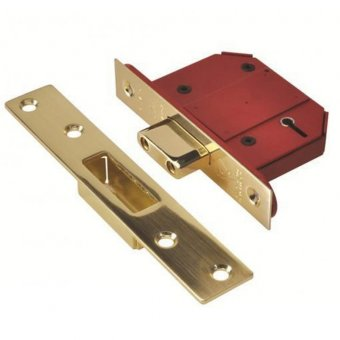 UNION 2100S 5 LEVER BRITISH STANDARD MORTICE DEADLOCK