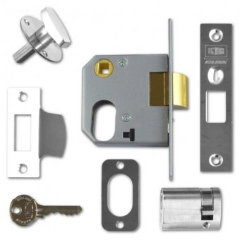 UNION 2332 OVAL PROFILE MORTICE NIGHT LATCH