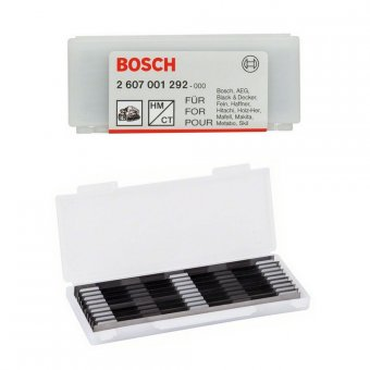 BOSCH 82MM PLANER BLADES (PACK OF 10)