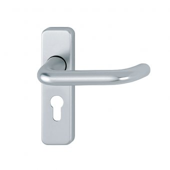 HOPPE ROUND BAR LEVER EURO PROFILE FURNITURE