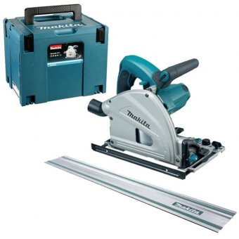 MAKITA SP6000J1 165MM PLUNGE SAW + 1.5M GUIDE RAIL (110V)