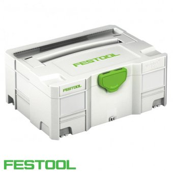 FESTOOL SYS 2 TL SYSTAINER T-LOC WITHOUT INSERT
