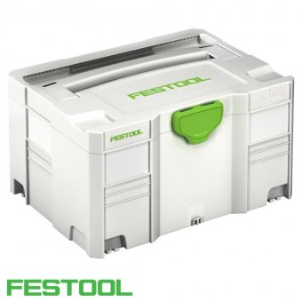 FESTOOL SYS 3 TL SYSTAINER T-LOC WITHOUT INSERT