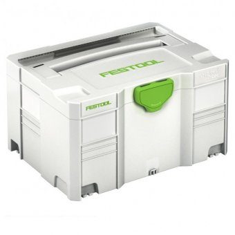 FESTOOL 497565 SYS 3 TL SYSTAINER T-LOC WITHOUT INSERT