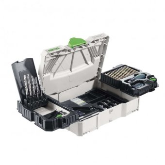 FESTOOL 497628 SYS1 CE-SORT CENTROTEC ACCESSORY SET IN T-LOC SYSTAINER