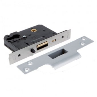BRITON 5250 DUAL PROFILE CYLINDER MORTICE NIGHT LATCH