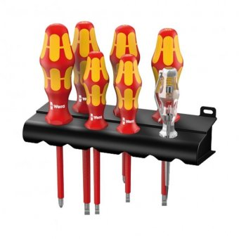 WERA 7PCE VDE SCREWDRIVER SET PH AND M/T