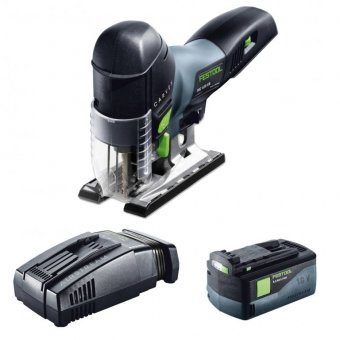 FESTOOL CARVEX PSC 420 LI 18 Cordless pendulum jigsaw with 1 x 18V 5.2Ah Battery (574710)