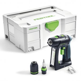 FESTOOL 564609 C18 LI-BASIC CORDLESS DRILL DRIVER BODY ONLY (574737)