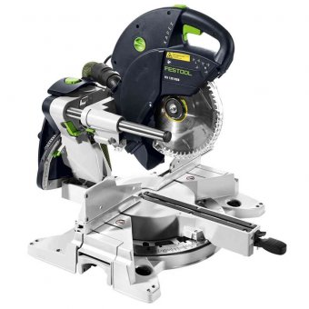 Festool Sliding compound mitre saw KS 120 REB GB 110V KAPEX