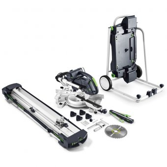 Festool Sliding Compound Mitre Saw Ks60E-Set/Xl-Ug Gb 110V Kapex