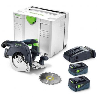 FESTOOL HKC 55 LI 5,2 EB-PLUS CORDLESS CIRCULAR SAW (575676)