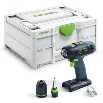 FESTOOL T18+3 LI-BASIC CORDLESS DRILL BODY ONLY (576448)