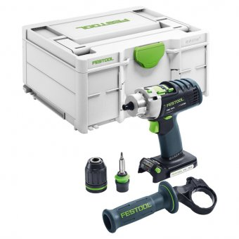 FESTOOL 576466 PDC18/4 LI-BASIC PERCUSSION DRILL (BODY ONLY)