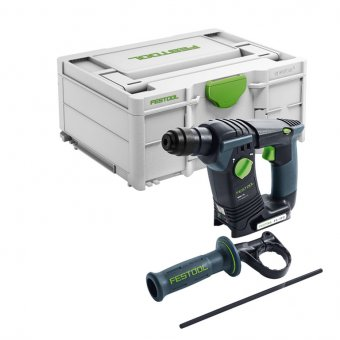 FESTOOL 577057 CORDLESS SDS/ HAMMER DRILL BHC 18-BASIC PROMO WITH 4.0AH LI BATTERY