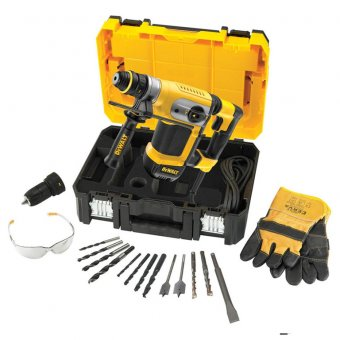 DEWALT D25417KT-GB 32MM 4KG SDS PLUS COMBINATION HAMMER 240V