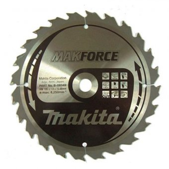 Makita B-08349 185mm x 15.88mm x 24T Circular Saw Blade