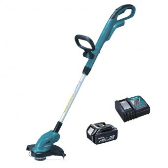 MAKITA 18V STRING TRIMMER WITH 1 X 4.0AH BATTERY AND 1 X DC18RC CHARGER