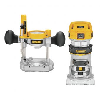 DEWALT 110V D26204K 1/4 INCH COMBINATION ROUTER