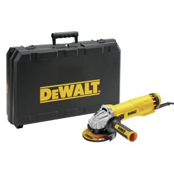 "DEWALT DWE4206K 4-1/2"" 110V ANGLE GRINDER CARRY CASE VERSION"