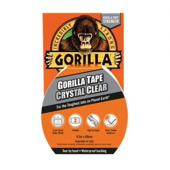 Gorilla GRGCLTAPE48 Tape Clear Repair 48mm x 8.2m