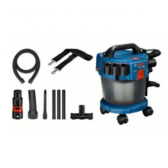 Bosch GAS 18V-10 L 18v Cordless vacuum cleaner Body Only With Accessory set