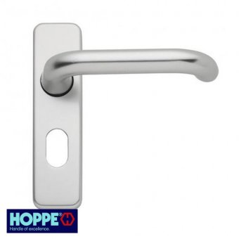 HOPPE ROUND BAR LEVER OVAL PROFILE FURNITURE