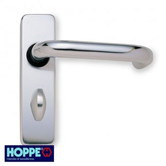 HOPPE ROUND BAR LEVER BATHROOM/PRIVACY FURNITURE
