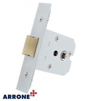 ARRONE SQUARE CASE MORTICE LATCH (TWO WAY ACTION)