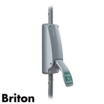 BRITON 372E SE VERTICAL PUSH PAD BOLT