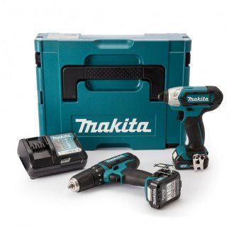 MAKITA CLX202AJ 10.8V 2.0AH LI-ION CXT TWIN PACK