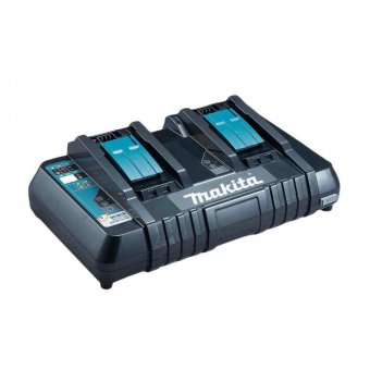 MAKITA DC18RD 14.4 - 18V LXT TWIN PORT RAPID BATTERY CHARGER
