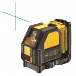 DEWALT DCE088 GREEN CROSS LINE LASER WITH 1 X 10.8V 2.0AH BATTERY