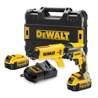 DEWALT DCF620M2 18V 4.0AH XR BRUSHLESS DRYWALL GUN WITH COLLATED MAGAZINE
