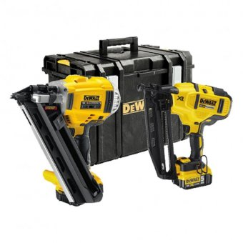 DEWALT DCK264P2-GB 18V 5.0AH NAIL GUN 1ST AND 2ND FIX TWIN PACK